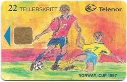 Norway - Telenor - Norway Cup 1997 - N-99 - 05.1997, 50.000ex, Used - Norwegen