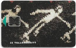 Norway - Telenor - Olympics Kortbane - (Cn. 00397) - SC5, 01.1993, 8.000ex, Used - Norway
