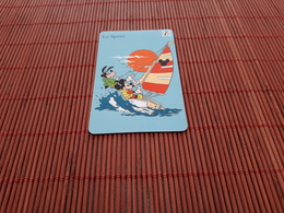 Disney Prepaidcard Sepa 2 Scans Rare ! - Disney