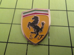 115d Pins Pin's / Rare & TB état / THEME : AUTOMOBILES / CHEVAL CABRE LOGO SCUDDERIA FERRARI Pas Lolo Hélas ! - Ferrari
