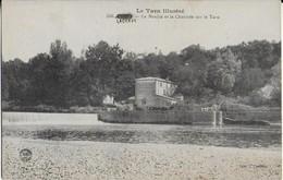 LAGRAVE ( Le TarnIllustré ) : Le Moulin Et La Chaussée Sur Le Tarn - Autres Communes