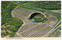 STADIO BASEBALL - MILWAUKEE COUNTY STADIUM - Vedi Retro - Baseball