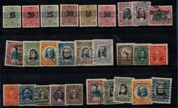 Costa Rica 1900-1911, 28 Stamps With/without Overprints - See Scan - Costa Rica
