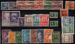 Costa Rica 19112-1923, Incl 10 Colon Values, 28 Stamps With/without Overprints - See Scan - Costa Rica