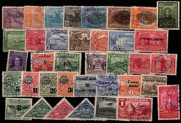 Costa Rica 1924-1934, 37 Stamps With/without Overprints - See Scan - Costa Rica