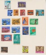 Lot De Timbres Sur Feuille D'album - Zambie (1965-...)