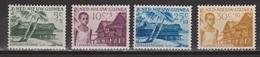 Nederlands Nieuw Guinea Dutch New Guinea 41 - 44 MNH ; Leprazegels 1956 NOW ALL STAMPS OF NETHERLANDS NEW GUINEA - Netherlands New Guinea