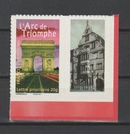 FRANCE / 2007 / Y&T N° 3599B ** (ex 4027) Ou AA 313A ** : Arc De Triomphe Adhésif (vignette PHOTO) CdF - RARE ! - France