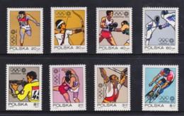 Poland 1972 Olympics Set Of 8 MNH - 1944-.... Republic