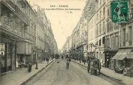 PARIS  3eme Arrondissement  La Rue Des Filles Du Calvaire - Paris (03)