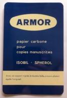 ARMOR SUPPORT RIGIDE METAL POUR COPIES MANUSCRITES PAPIER CARBONE - Tin Signs (after1960)