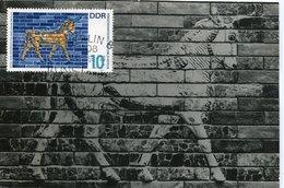 45671 Germany Ddr, Maximum 1966 Mosaic Exhibition Of The Throne Of Babylon, Mi-1229 - [6] Repubblica Democratica