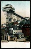 Ref 1305 - Early Postcard - Katarinahissen Stockholm Sweden - Public Elevator - Sweden
