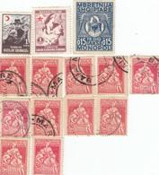 12557-LOTTICINO N°. 14 MARCHE DA BOLLO FISCALI TURCHIA-ALBANIA-ROMANIA - Altri - Europa