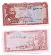 Kenya - 5 Shillings 1978 UNC Ukr-OP - Kenia