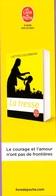 Marque-page °° Livre De Poche - La Tresse - L. Colombani - 5x18 - Bladwijzers