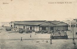Manaos Armazem Da Cabotagem M.H. Ltd  Tram Tramway Tranvia Used 1909 Manao S.S. Viking - Manaus