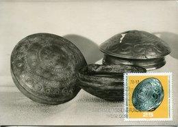 45673 Germany Ddr, Maximum 1970 Bronze Bechen, Archeology Mi-1555 - Maximumkarten (MC)