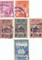 12558-LOTTICINO N°. 6 MARCHE DA BOLLO FISCALI EGITTO-LIBANO-SOMALIA - Francobolli