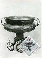 45674 Germany Ddr, Maximum 1976  Bronze , Archeology Mi-2183 - Maximumkarten (MC)