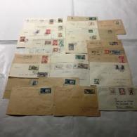 MG224) CECOSLOVACCHIA -1950-69 Storia Postale Lotto Di Circa 106 Buste Viaggiate Raccomandate Ordinarie E Aeree (1) - Cecoslovacchia