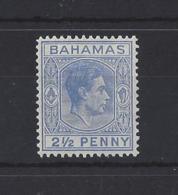 BAHAMAS......KING GEORGE VI.(1936-52)....2 AND HALFd.........SG153......MH.. - Bahamas (...-1973)
