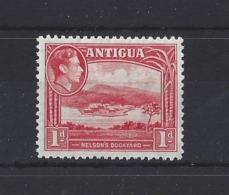 ANTIGUA........KING GEORGE VI.(1936-52)....1d.........SG99....MH.. - 1858-1960 Colonia Británica