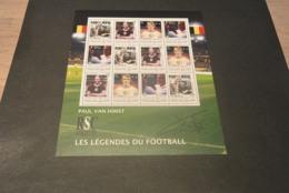 GR601A - Personalised Bloc  MNh Togo - Togolaise 2011 - Paul Van Himst - Nonnormalised Shipment - Soccer