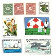 Costa D'Avorio - Lotto Francobolli   M6 - Costa D'Avorio (1960-...)