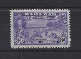 BAHAMAS....KING GEORGE VI.(1936-52)...8d.....SG186......MH........ - Bahamas (...-1973)