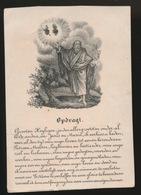 H.PRENTJE IMAGE PIEUSE  10 X 7 CM   GROOTEN HEYLIGEN - Imágenes Religiosas