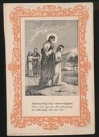 H.PRENTJE IMAGE PIEUSE  11 X 7.5 CM   ZACHTMOEDIG - Imágenes Religiosas