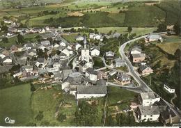 Lierneux -- Vue Aérienne - Le Centre.     (2 Scans) - Lierneux