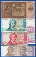 Croatie  12  Billets  + 1 - Croatie