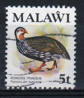 Malawi 1975 Single 5t Stamp From The 2nd Series Bird Definitive Set. - Malawi (1964-...)