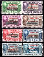 Falkland-0032 - Graham Land 1944 (+) LH - Senza Difetti Occulti. - Falkland