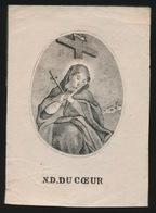 H.PRENTJE IMAGE PIEUSE  10 X 7.5 CM    N.DU COEUR - Images Religieuses