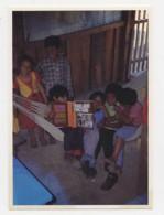 AI39 Children In The Mesa Grande Refugee Camp - El Salvador