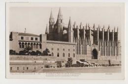 AI50 Palma De Mallorca, Catedral Y Palacio De La Almudaina - RPPC - Mallorca