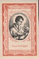 H.PRENTJE IMAGE PIEUSE  10 X 7 CM   Se LOUIS DE GONGAGE - Images Religieuses