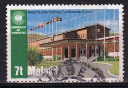 Malawi 1983 Single 7t Stamp From The Commonwealth Day Set. - Malawi (1964-...)