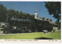 AK91 Old Steam Engine, Kingston, Ontario, Canada - Kingston