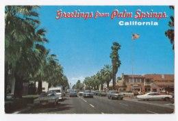AK91 Palm Springs, California - Vintage Cars - Palm Springs