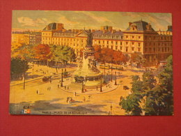 Paris - Place De La République - Arrondissement: 10