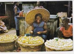 AK94 Market Scene, Ghana - Posted From Nigeria, Courrier Des Marins, Seamen's Mail - Ghana - Gold Coast