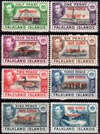 Falkland-0033 - South Georgia 1944 (+) LH - Senza Difetti Occulti. - Falkland