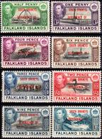 Falkland-0034 - South Orkneys 1944 (+) LH - Senza Difetti Occulti. - Falkland
