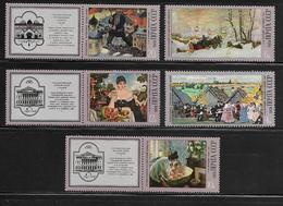 RUSSIE  ( EURU7 - 385 )   1978  N° YVERT ET TELLIER  N° 4458/4462    N** - Unused Stamps