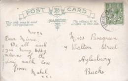 AQ32 Genealogy - Miss Paragreen, Walton Street, Aylesbury, 1917 - Genealogy
