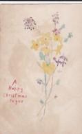 AQ32 Greetings - A Happy Christmas To You - Handmade Postcard - Christmas
